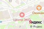 Схема проезда до компании Центр ЭКО в Борисовичах
