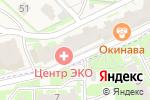 Схема проезда до компании Рыбацкая симфония в Борисовичах