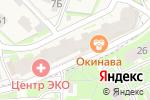 Схема проезда до компании Halsa в Борисовичах