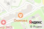 Схема проезда до компании Формула цвета в Борисовичах