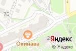Схема проезда до компании Concept в Борисовичах