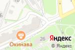 Схема проезда до компании Кинза в Борисовичах