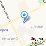 Авто-Нова на карте Пскова