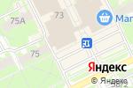 Схема проезда до компании Зоомир в Пскове