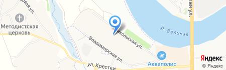 Радуга на карте Борисовичей