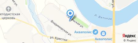 Северо-Западный банк Сбербанка России на карте Борисовичей
