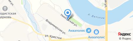 Банкомат Балтийский Банк на карте Борисовичей