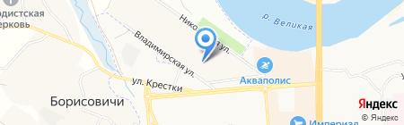 Пантера на карте Борисовичей