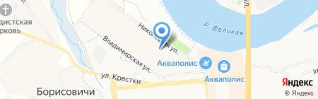 Продукты на карте Борисовичей