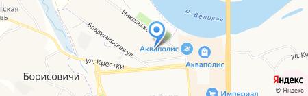 Вираж на карте Борисовичей