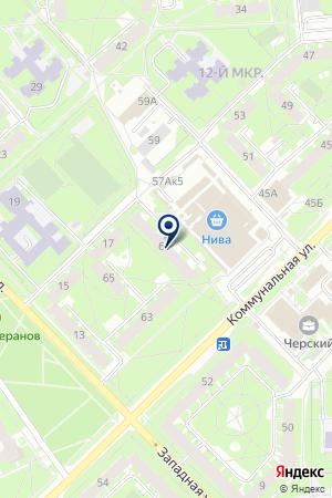 ДЕТСКИЙ ЦЕНТР НАДЕЖДА на карте Пскова