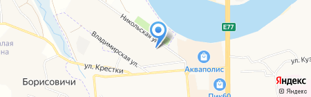 ДАРиЯ на карте Борисовичей