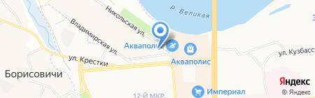 Qiwi на карте Борисовичей