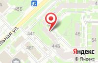 Схема проезда до компании Кавдор в Пскове