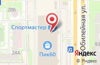 Схема проезда до компании Еврочехол в Пскове