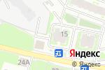 Схема проезда до компании Седьмое небо в Пскове