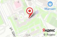 Схема проезда до компании Протей в Пскове