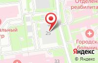 Схема проезда до компании Климовск в Подольске
