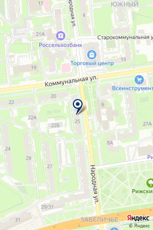 АВТОСАЛОН ПЕТРОВ Е.Ф. на карте Пскова