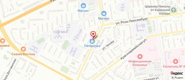 Карта расположения пункта доставки Псков Народная в городе Псков