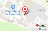 Схема проезда до компании Крепеж+ в Пскове