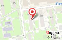 Схема проезда до компании Иста-Псков в Пскове