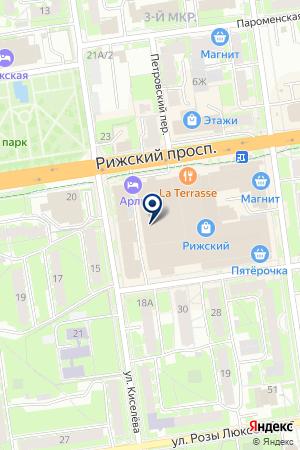 АВТОМАГАЗИН МОТОР на карте Пскова