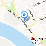 АНТЕЙ на карте Пскова