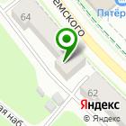 Местоположение компании АСТА