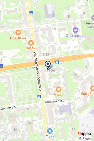 БОРС-Псков на карте Пскова