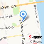 МТ Авто на карте Пскова