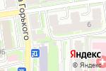 Схема проезда до компании Берегиня в Пскове
