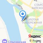 Вертоград на карте Пскова