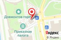 Схема проезда до компании Алт в Пскове