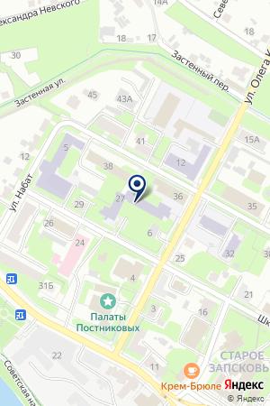 VII ВИДА № 6 на карте Пскова