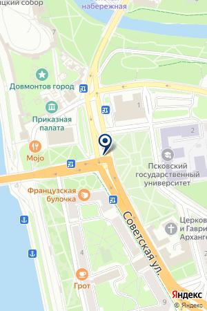 ENDESIGN на карте Пскова