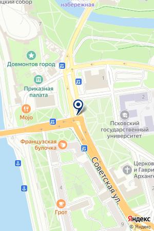 CARSGURU — ПОРТАЛ АВТООБЪЯВЛЕНИЙ на карте Пскова