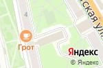 Схема проезда до компании Бизнес-Консалтинг в Пскове