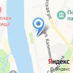 Псковский областной колледж искусств им. Н.А. Римского-Корсакова на карте Пскова