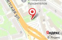 Схема проезда до компании Единый медицинский портал Псковской области в Пскове