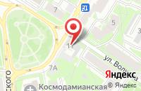 Схема проезда до компании Мисоль в Кирове