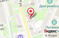 Схема проезда до компании Эконамс в Пскове
