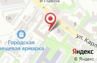 Схема проезда до компании Odinshag.ru в Пскове