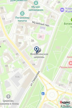 ПРИХОДСКОЙ СОВЕТ на карте Пскова
