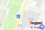 Схема проезда до компании Все приборы.ру в Пскове