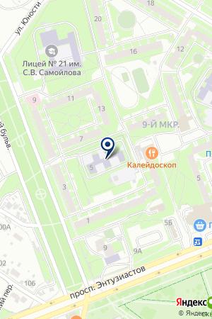 МДОУ ДЕТСКИЙ САД ЖУРАВЛИК на карте Пскова