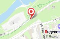Схема проезда до компании Омис в Пскове