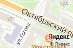 Схема проезда до компании Ириска в Пскове