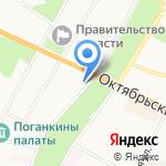 Технический центр Инкпринт на карте Пскова