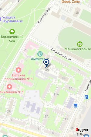 АВАРИЙНО-ДИСПЕТЧЕРСКАЯ СЛУЖБА МП ПСКОВСКИЕ ТЕПЛОВЫЕ СЕТИ на карте Пскова